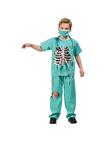 Child's Scary ER Doctor Costume-COSTUMEISH