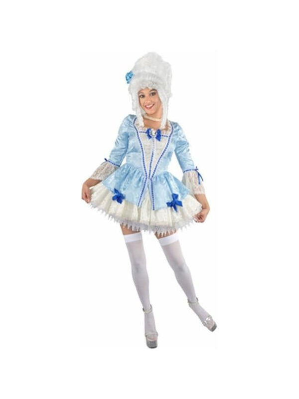 Adult Sexy Blue Marie Antoinette Costume-COSTUMEISH