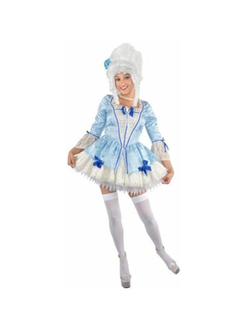 Adult Sexy Blue Marie Antoinette Costume