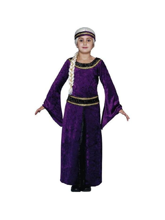Child's Purple Guinevere Renaissance Costume-COSTUMEISH