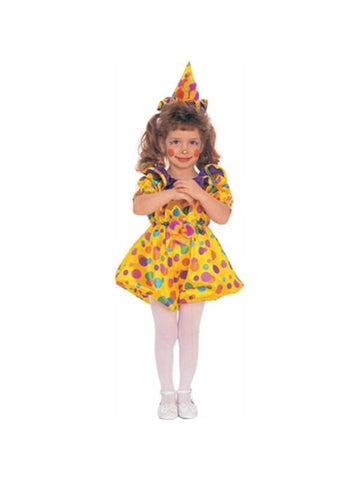 Toddler Cuddles The Clown Costume