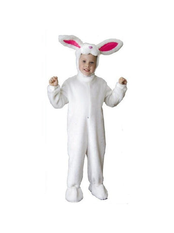 Child Deluxe White Bunny Rabbit Costume