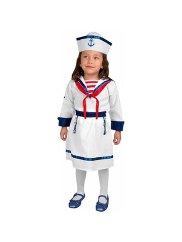 Toddler Girl's Sailor Costume-COSTUMEISH