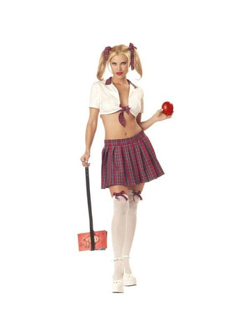 Adult Sexy Teacher's Pet School Girl Costume