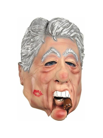 Moveable Jaw Bill Clinton Mask-COSTUMEISH