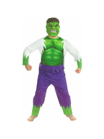 Child's Deluxe Incredible Hulk Costume-COSTUMEISH