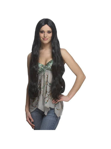 Adult Black Costume Wig-COSTUMEISH