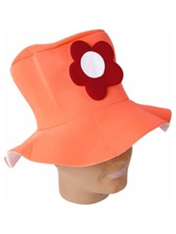 Adult Orange Hobo Hat-COSTUMEISH