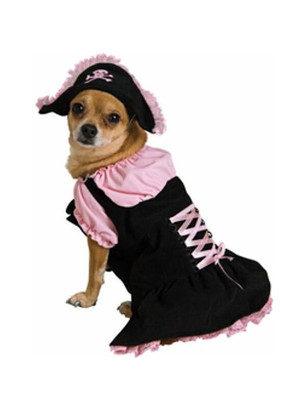 Pirate Girl Dog Costume-COSTUMEISH