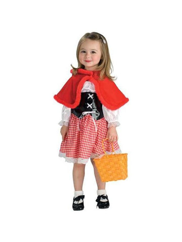 Childs Adorable Little Red Riding Hood Costume