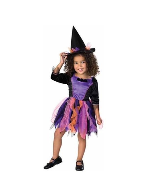 Toddler Ribbon Witch Costume-COSTUMEISH