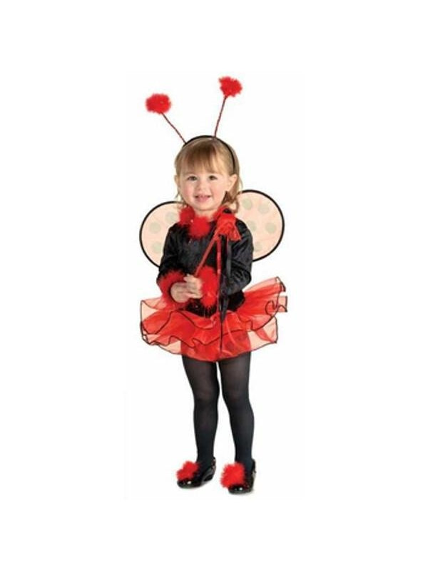 Toddler Lil Lady Bug Costume-COSTUMEISH