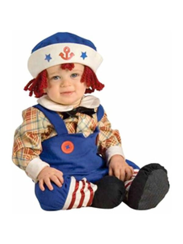 Baby Boy Rag Doll Costume-COSTUMEISH