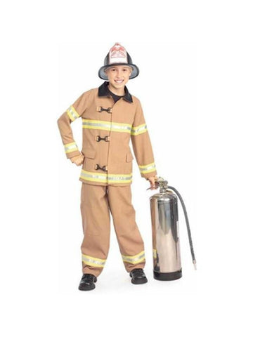 Childs Deluxe Fire Fighter Costume