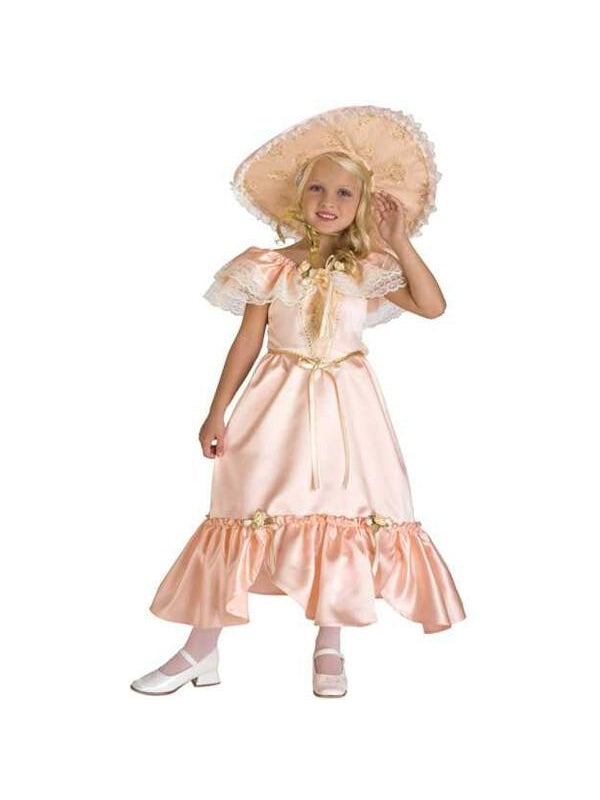 Childu0027s Georgia Peach Southern Bell Costume-COSTUMEISH  sc 1 st  Costumeish.com & Childu0027s Georgia Peach Southern Bell Costume