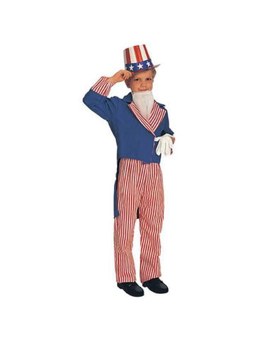 Child's Uncle Sam Costume