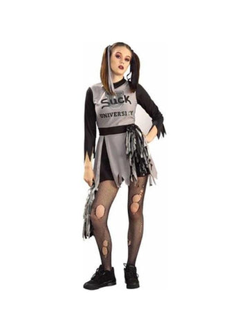 Adult Womens Zombie Cheerleader Costume