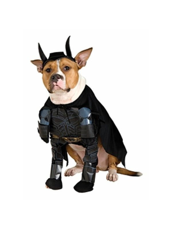 Deluxe Batman Dog Costume-COSTUMEISH