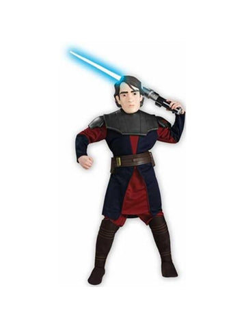Childs Clone Wars Deluxe Anakin Skywalker Costume-COSTUMEISH