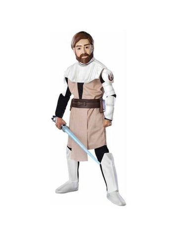 Child Clone Wars Deluxe Obi Wan Kenobi Costume