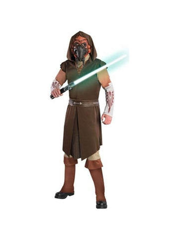 Adult Clone Wars Deluxe Plo Koon Star Wars Costume