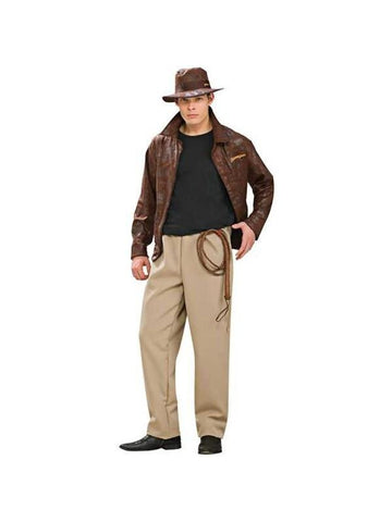 Adult Deluxe Indiana Jones Costume-COSTUMEISH