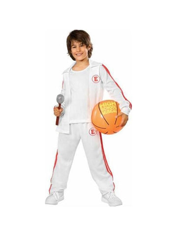 Childs Deluxe Troy High School Musical Costume-COSTUMEISH