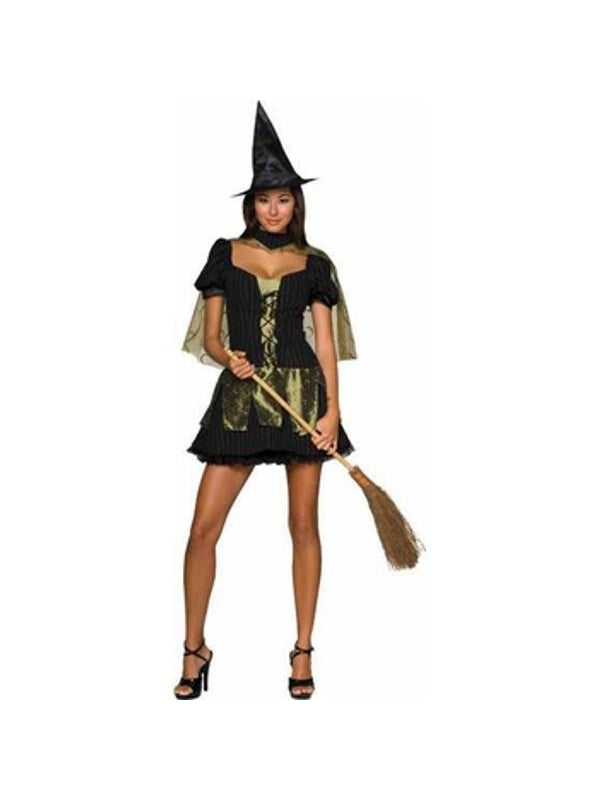 Adult Sexy Wicked Witch of The West Costume-COSTUMEISH