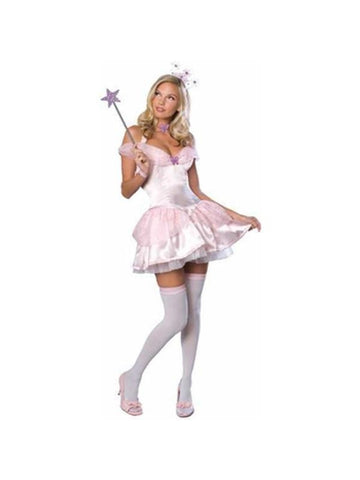 Adult Wizard of Oz Sexy Glinda The Good Witch Costume-COSTUMEISH