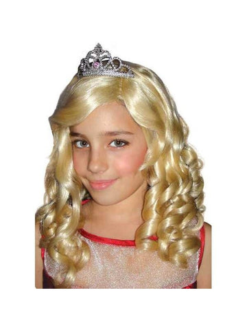 Childs Deluxe Sharpay Costume Wig