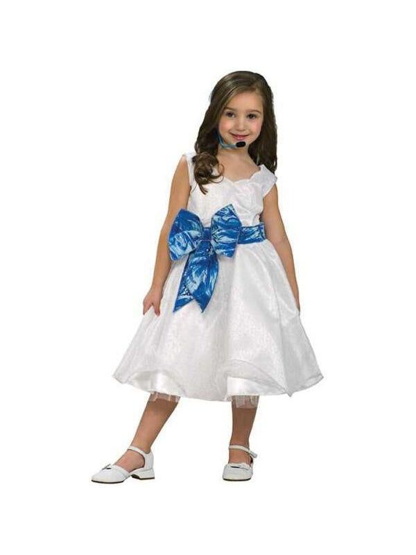 Child's High School Musical 2 Deluxe Gabriella Costume-COSTUMEISH