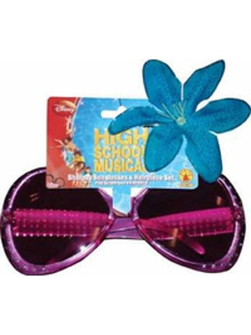 Childs Sharpay Costume Sunglasses And Hairpiece Set
