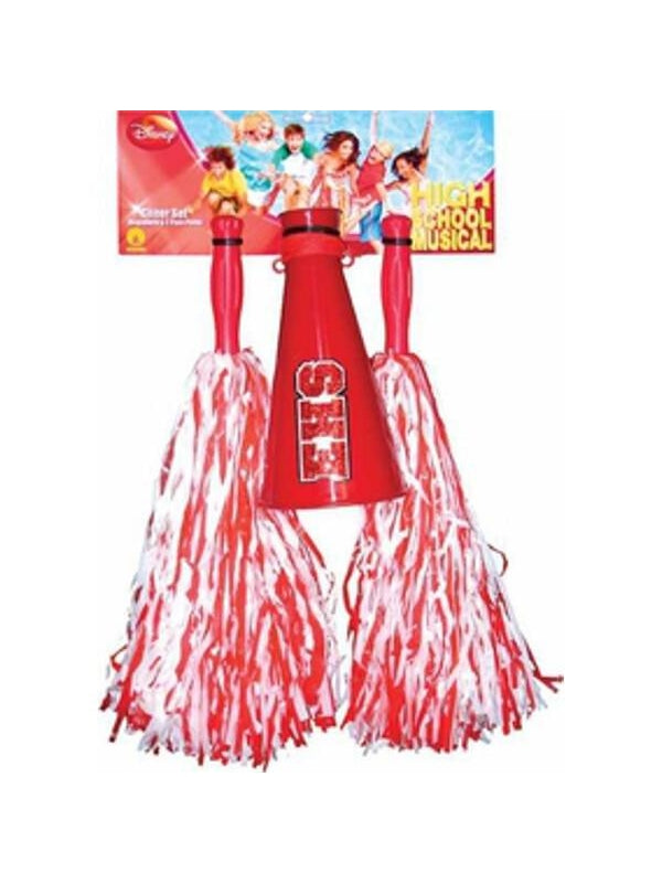 Childs High School Musical Cheerleader Costume Set-COSTUMEISH