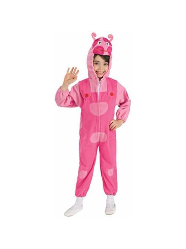 Toddler Deluxe Backyardigans Uniqua Costume-COSTUMEISH