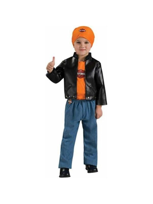 Toddler Harley Davidson Costume-COSTUMEISH