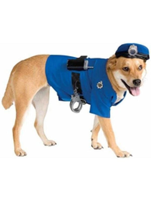 Deluxe Police Dog Costume-COSTUMEISH
