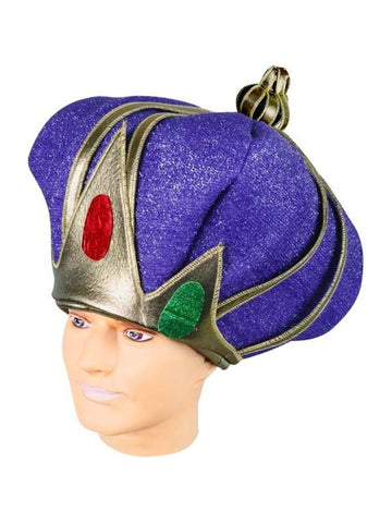 Purple Royal King Crown Hat
