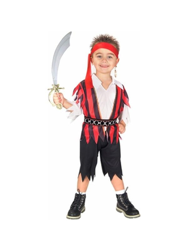 Toddler Pirate Boy Costume-COSTUMEISH