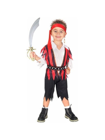 Toddler Pirate Boy Costume
