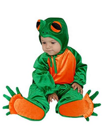 Infant Little Frog Costume-COSTUMEISH