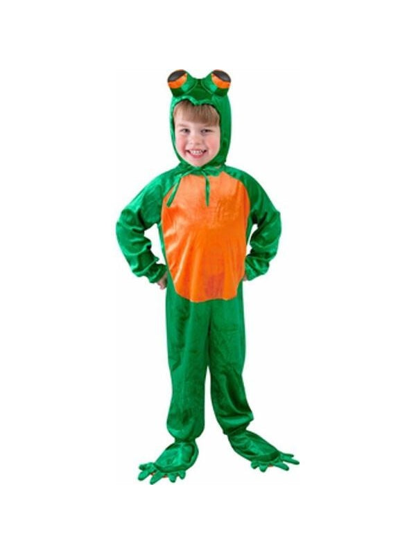 Toddler Little Frog Costume-COSTUMEISH