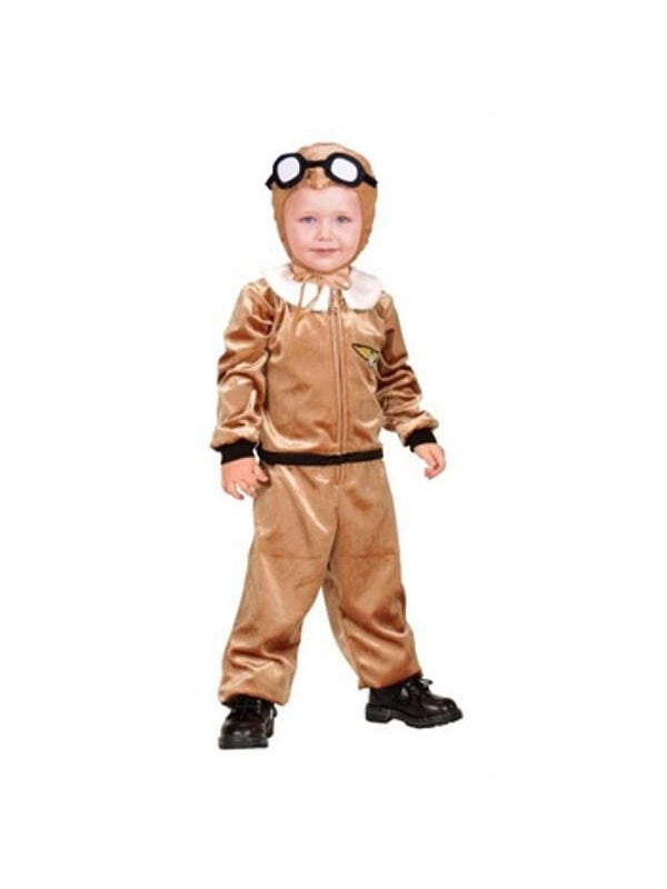 Toddler Aviator Pilot Costume-COSTUMEISH