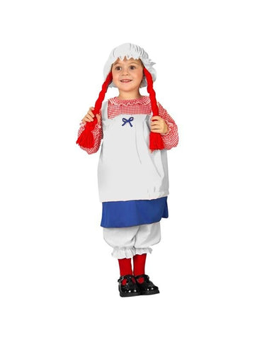 Toddler Rag Doll Costume-COSTUMEISH