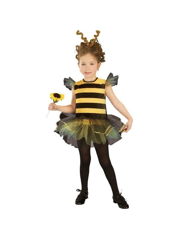 Toddler Bumble Bee Tutu Costume-COSTUMEISH
