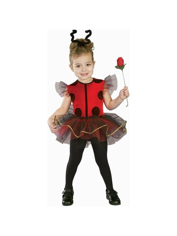 Toddler Lady Bug Tutu Costume-COSTUMEISH
