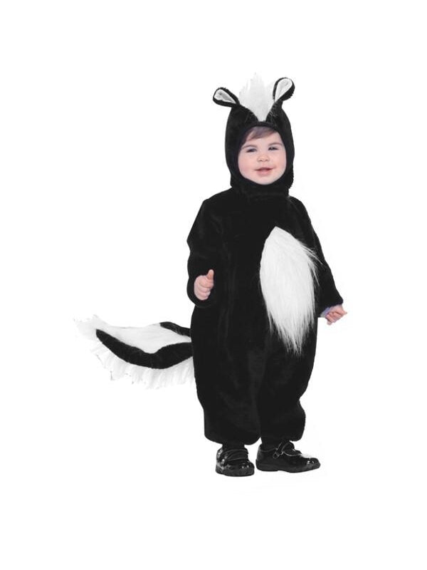 Toddler Plush Skunk Costume-COSTUMEISH