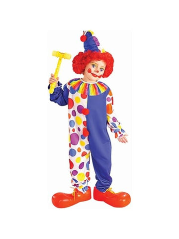 Child's Classic Clown Costume-COSTUMEISH