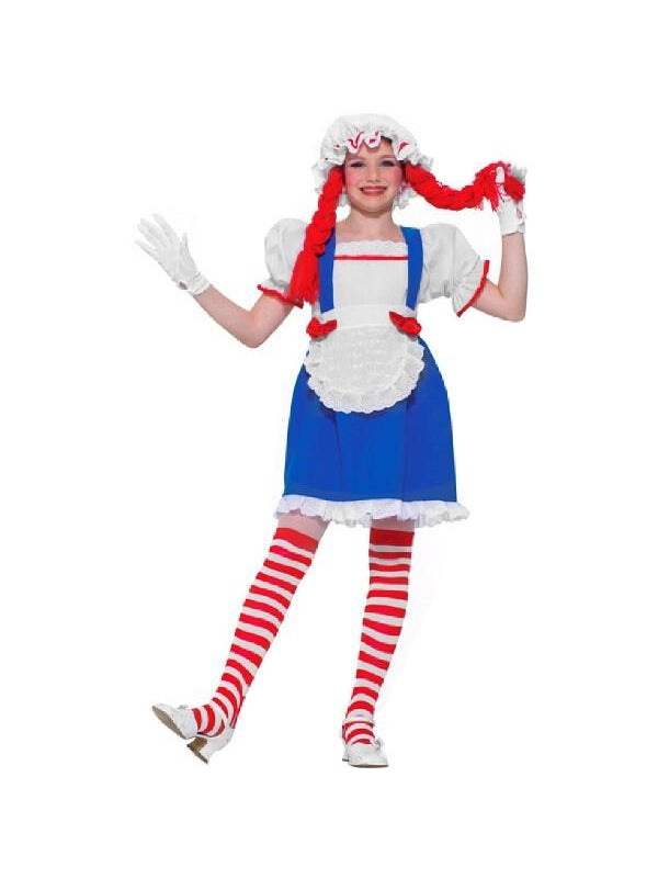 Childs Rag Doll Costume-COSTUMEISH
