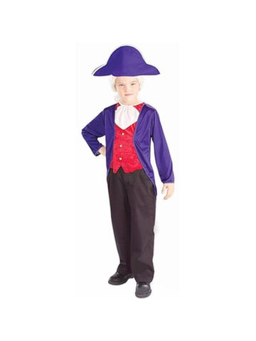 Childs President George Washington Costume-COSTUMEISH