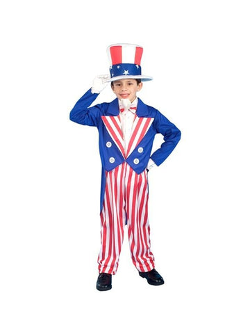 Childs Uncle Sam Costume